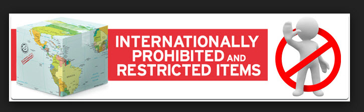 Courier Prohibited Items International