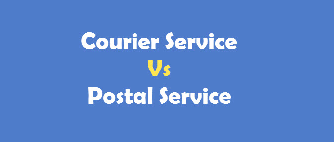 Courier Service Postal Service