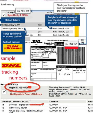 DHL Tracking DHL Courier Tracking Delivery Status