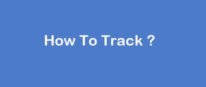 how to track courier