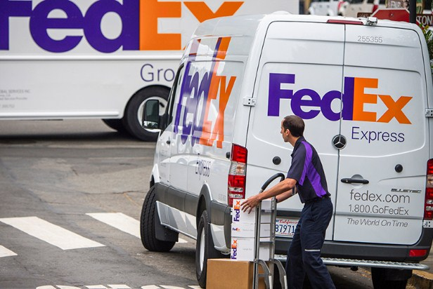 fedex courier franchise