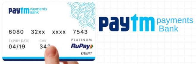 paytm debit card order tracking